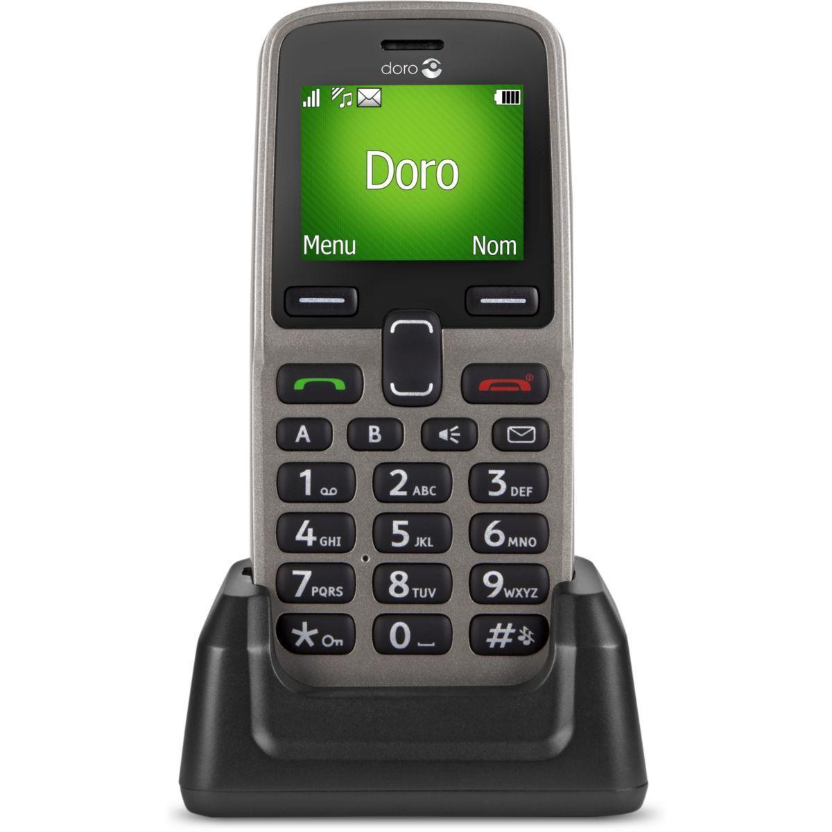 Téléphone mobile doro 5030 champagne