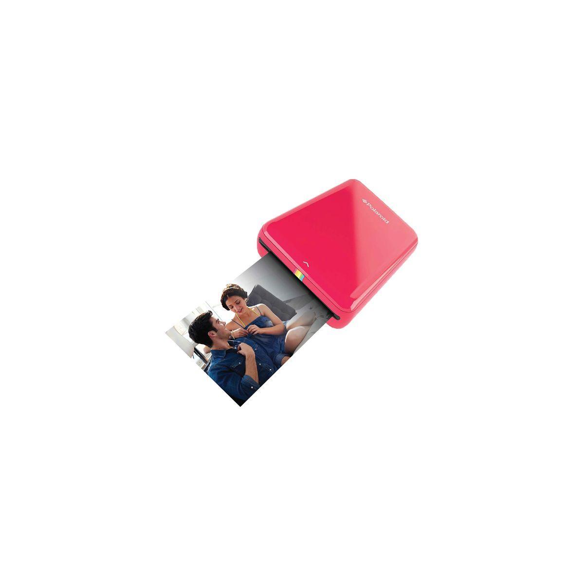 Imprimante photo polaroid mobile zip - rouge