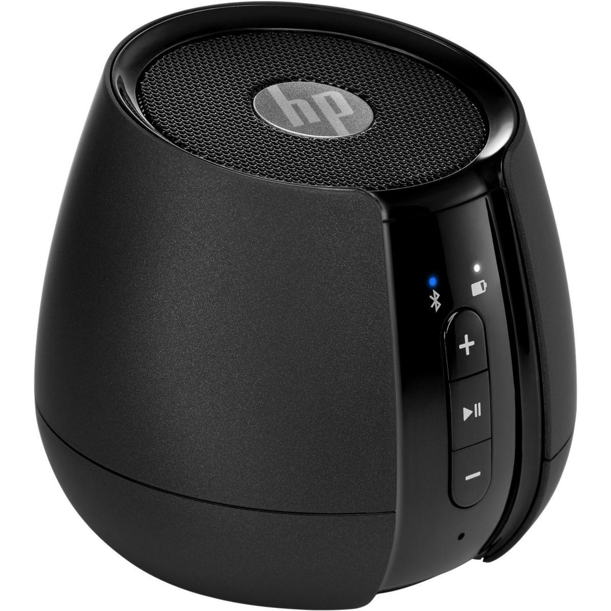 Enceinte pc hp black bt wireless speaker - 2% de remise imm�diate avec le code : deal2 (photo)