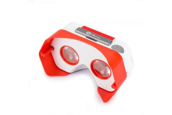 Casque de réalité virtuelle pour smartphone i am cardboard plastic vr rouge - 20% de remise immédiate avec le code : cool20 (photo)