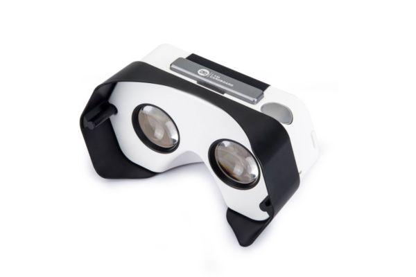 Casque de réalité virtuelle pour smartphone i am cardboard plastic vr noir - 2% de remise immédiate avec le code : cool2 (photo)