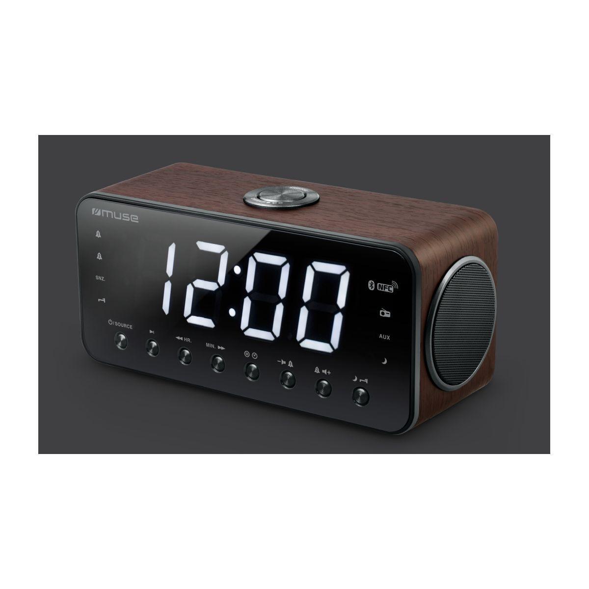 Radio-réveil muse m-196 dwt - 15% de remise immédiate avec le code : multi15 (photo)