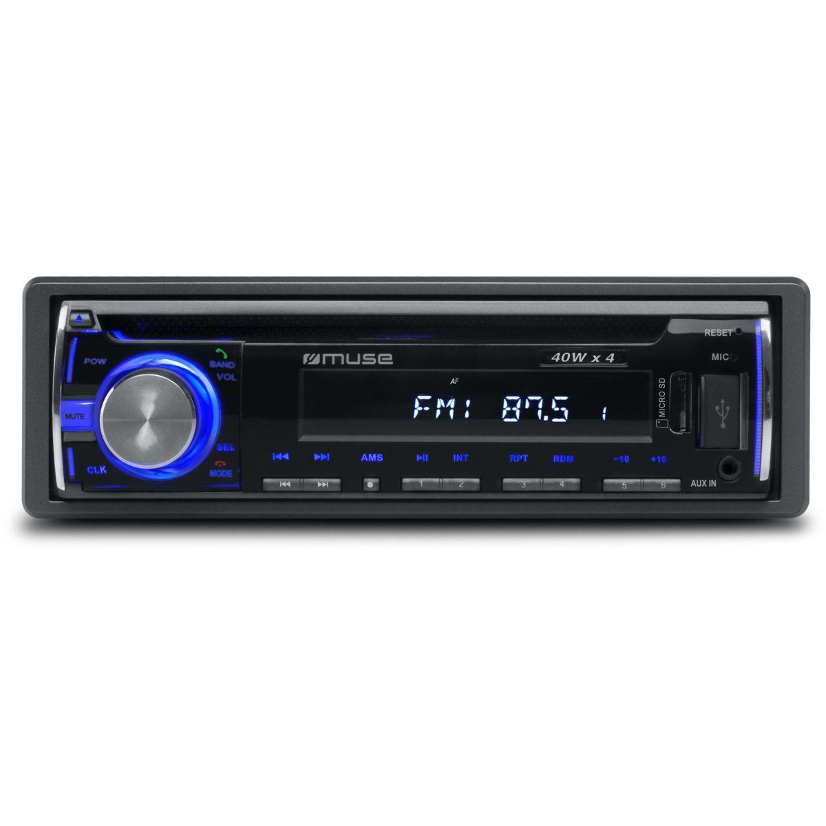 Autoradio cd muse m-1229 bt - 7% de remise imm�diate avec le code : deal7 (photo)