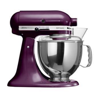 Pack promo robot sur socle artisan® kitchenaid 5ksm150ps eby prune + accessoires robot kitchenaid set fppc (5fga + 5fvsp + 5mvsa) - produit coup de co