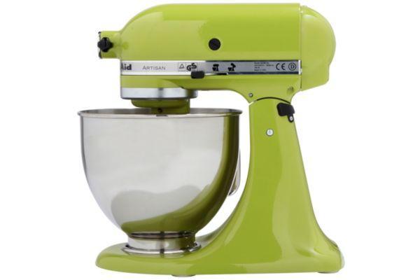 Pack promo robot sur socle artisan kitchenaid vert pomme 5ksm150psega + accessoires robot kitchenaid set fppc (5fga + 5fvsp + 5mvsa) - produit coup d