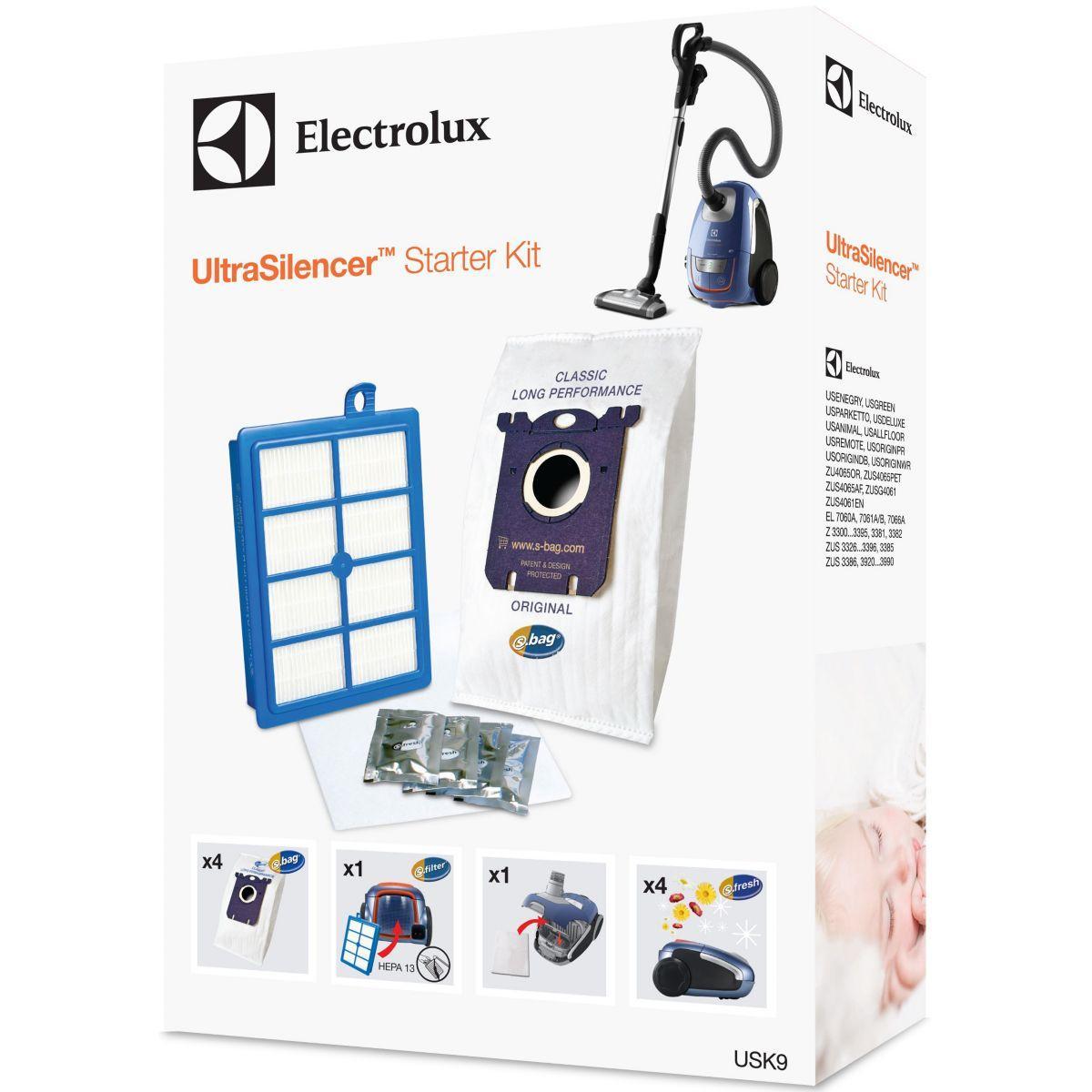 Sac aspirateur electrolux usk10 kit ultracaptic - 10% de remise : code access10