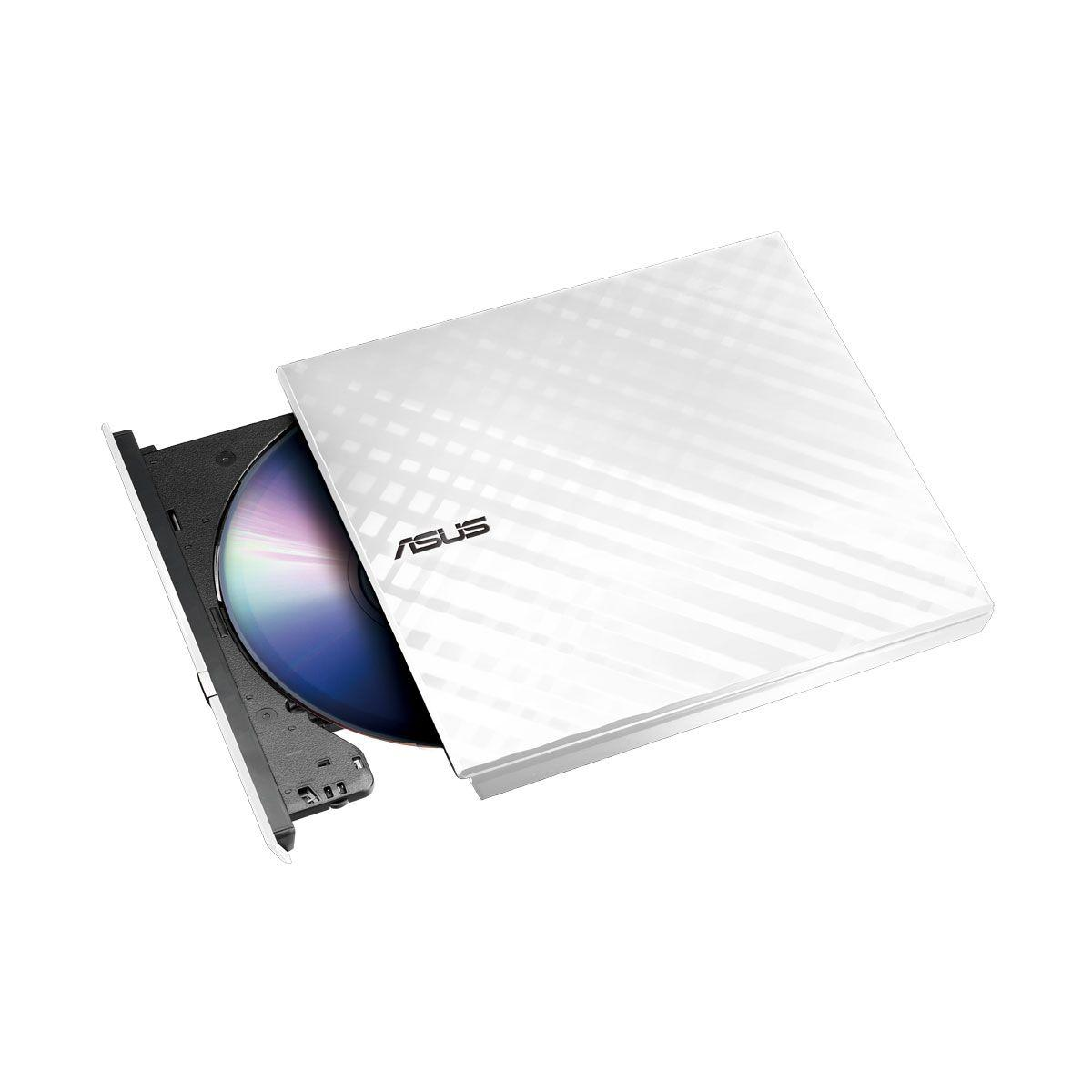 Graveur dvd externe asus ext sdrw-08d2s-u lite/wht/g/as (photo)