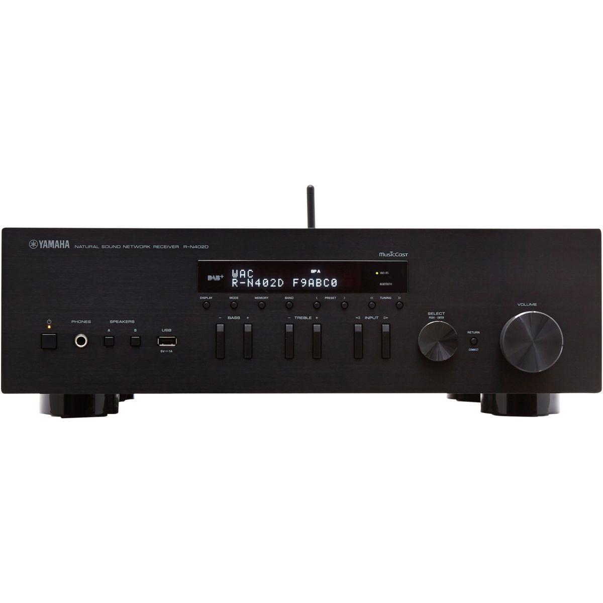 Amplificateur hifi yamaha musiccast rn402 noir - livraison offerte : code livdom (photo)