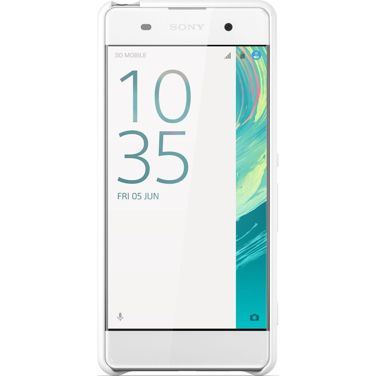 Coque sony xperia xa blanc - soldes et bons plans