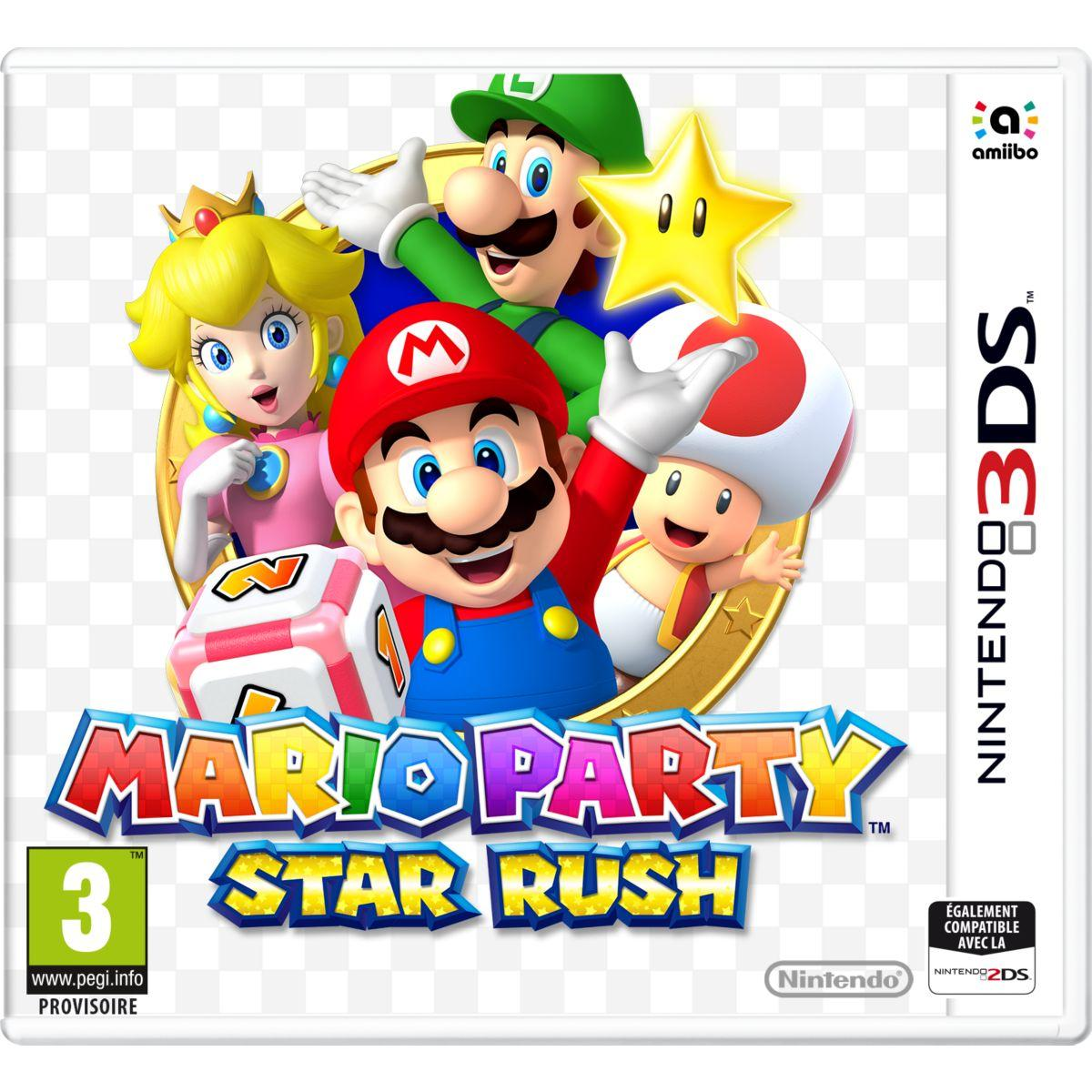 Jeu 3ds nintendo mario party star rush - 2% de remise immédiate avec le code : cool2 (photo)