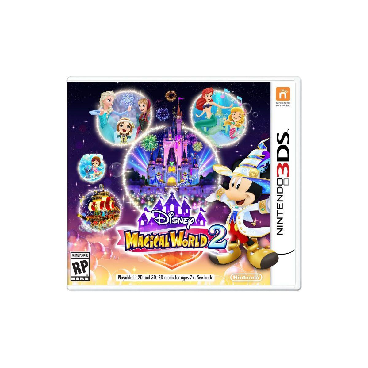 Jeu 3ds nintendo disney magical world 2 - 2% de remise immédiate avec le code : cool2 (photo)