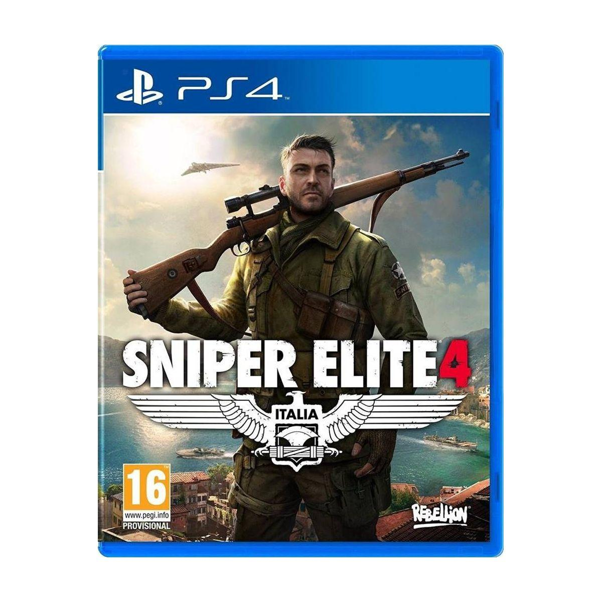 Jeu ps4 just for games sniper elite 4 - 2% de remise immédiate avec le code : cool2 (photo)
