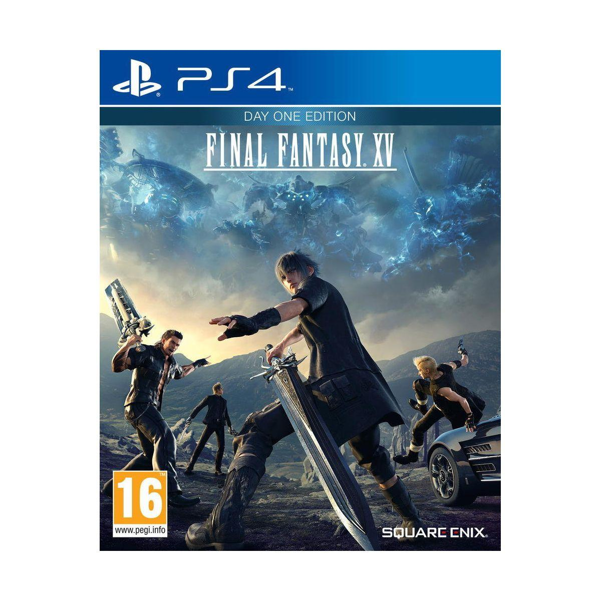 Jeu ps4 koch media final fantasy xv day one - 2% de remise immédiate avec le code : cool2 (photo)