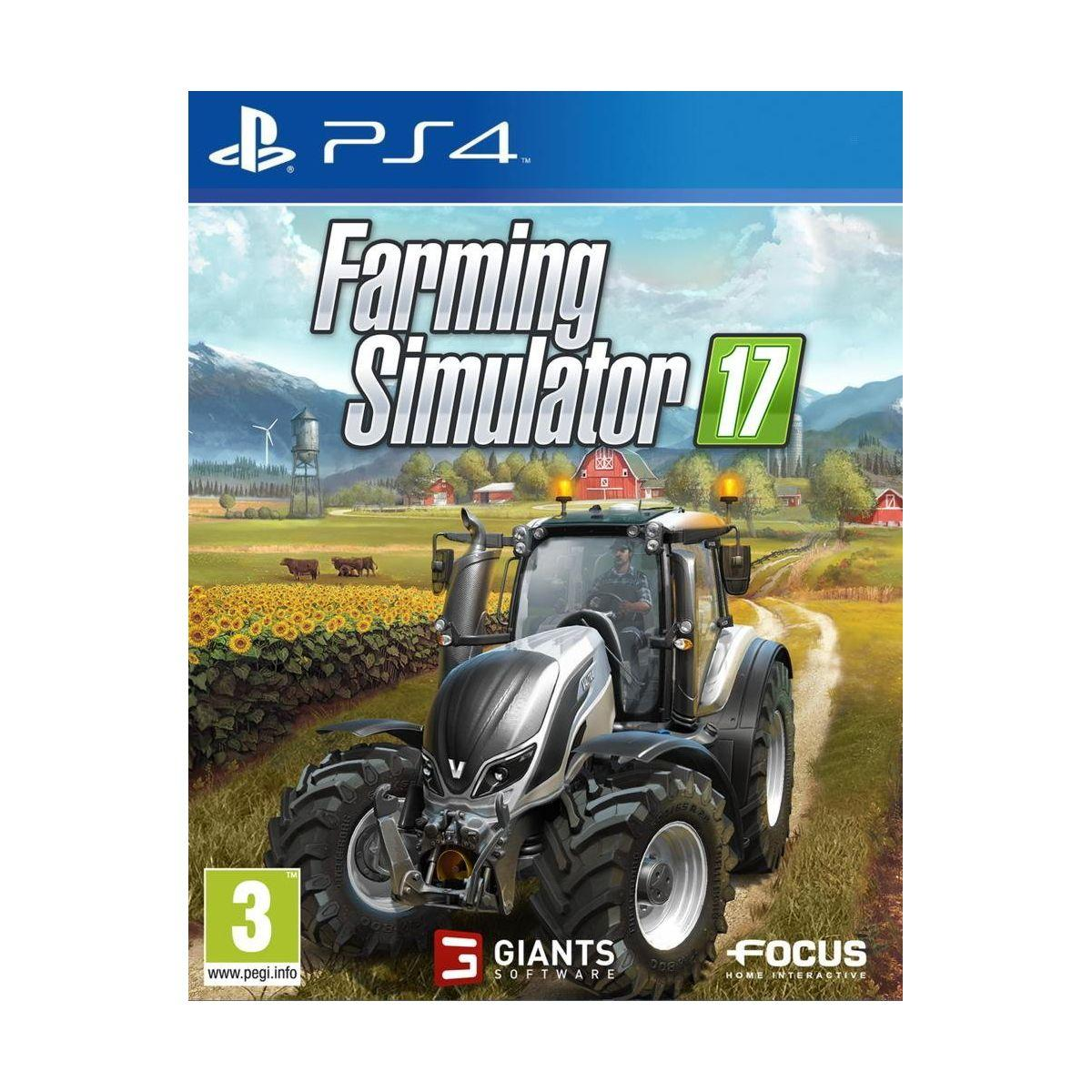 Jeu ps4 focus farming simulator 2017 (photo)
