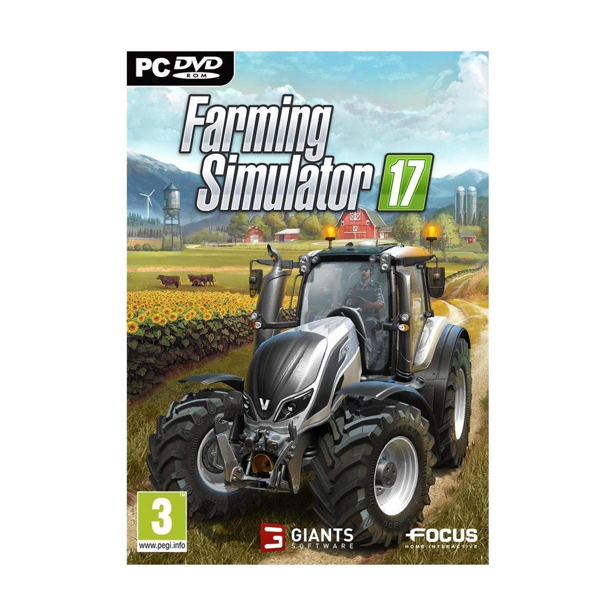 Jeu pc focus farming simulator 2017 - 3% de remise immédiate avec le code : multi3 (photo)