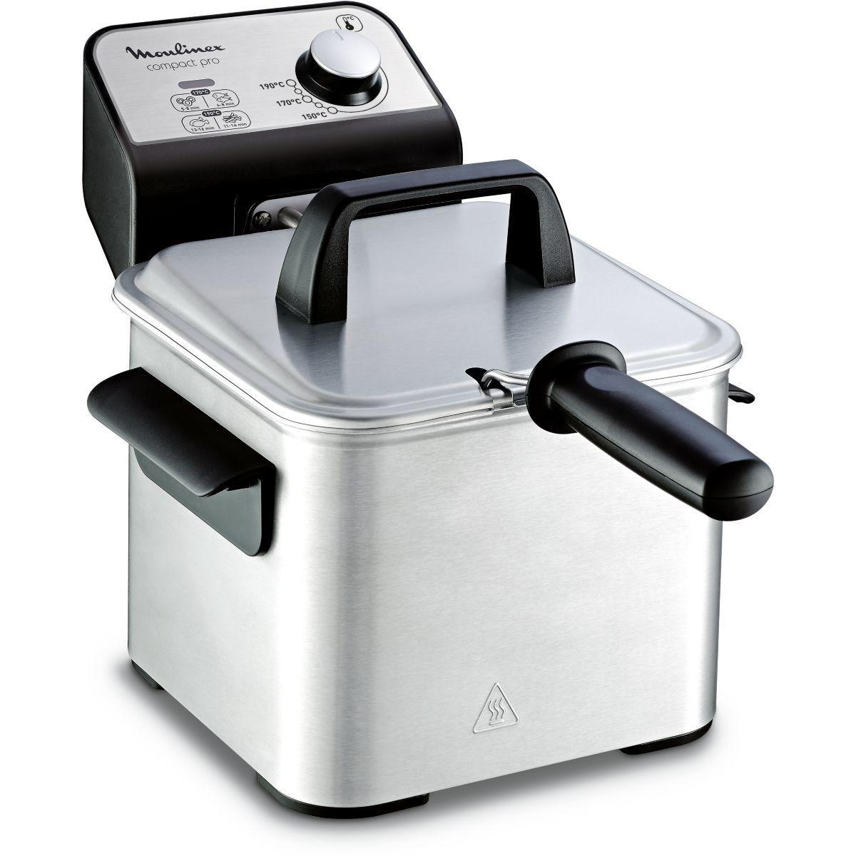Friteuse semi-professionnelle moulinex compact pro 2l am322070 - 20% de remise imm�diate avec le code : automne20 (photo)