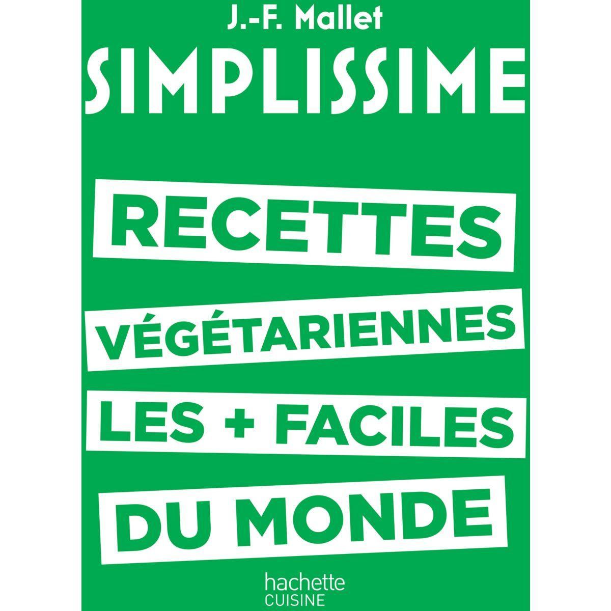 Livre hachette simplissime recettes végé - la sélection webdistrib.com (photo)