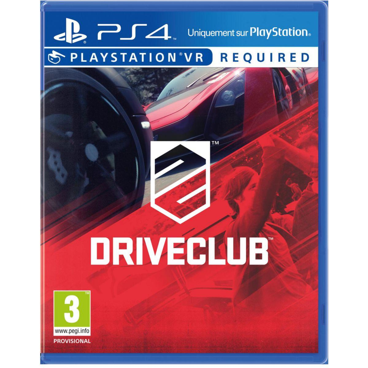 Jeu ps4 sony jeu vr driveclub (photo)