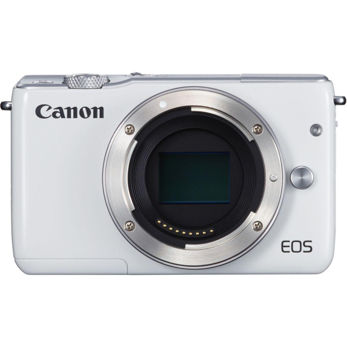 Apn canon eos m10 blanc nu - livraison offerte : code livphoto (photo)