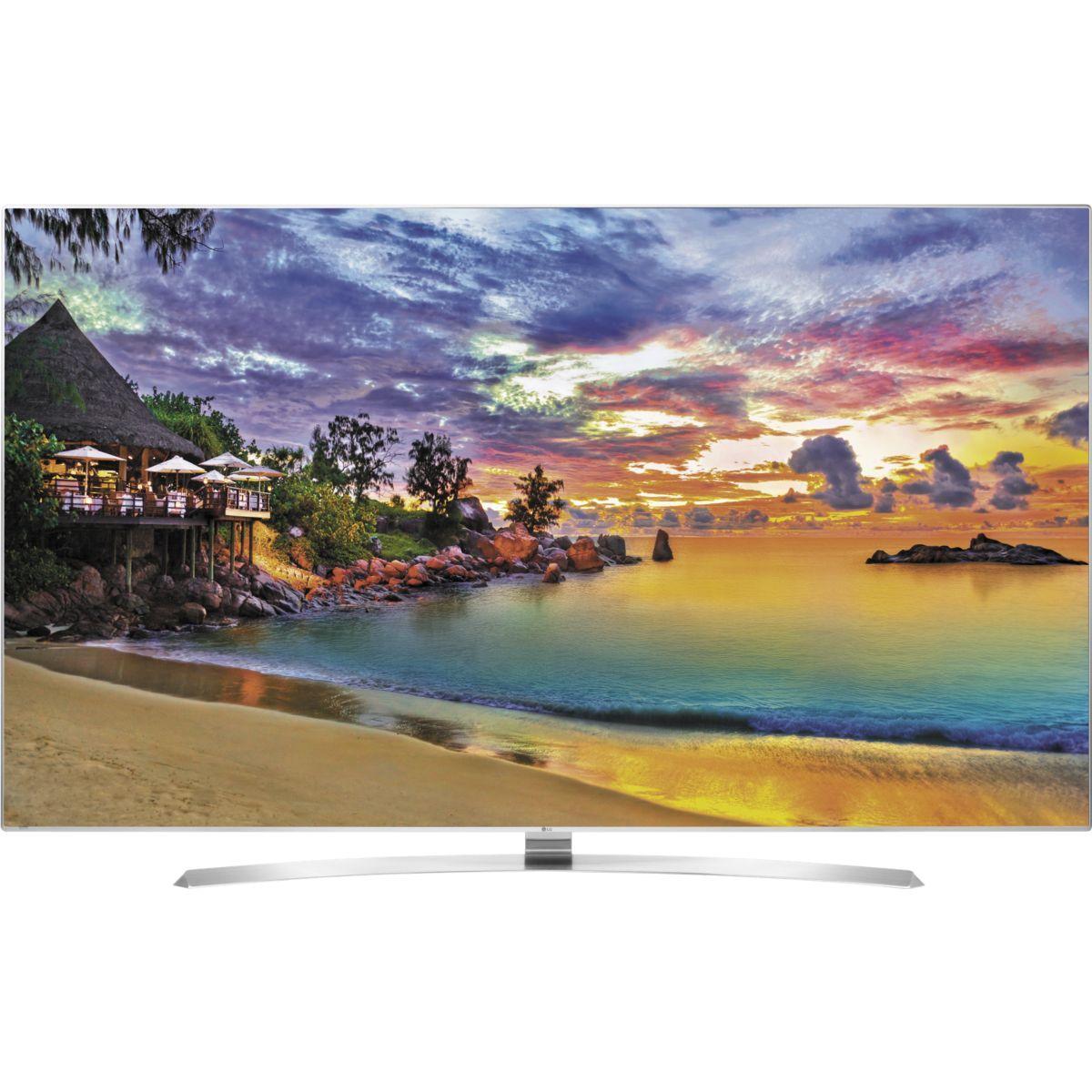 Pack promo tv lg 55uh950v 200hz 4k smart tv 3d + barre de son lg las550h - livraison offerte : code livtv
