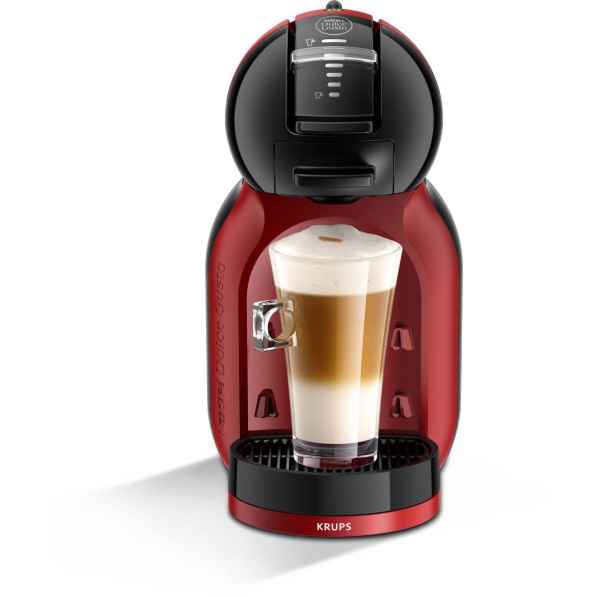 Dolce gusto krups mini me yy2749fd rouge et noire - livraison offerte : code premium (photo)
