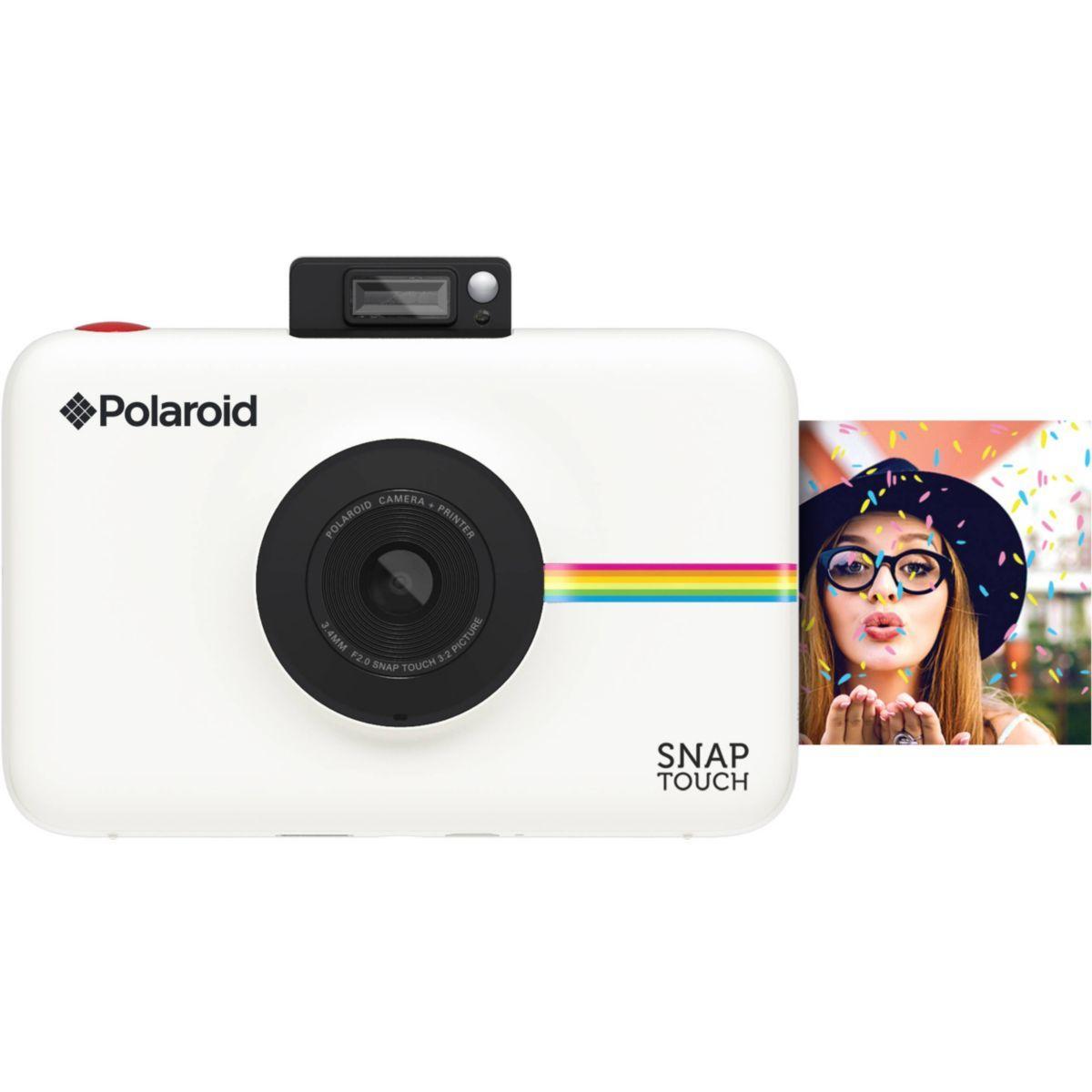 Appareil photo instantan? polaroid snap touch blanc