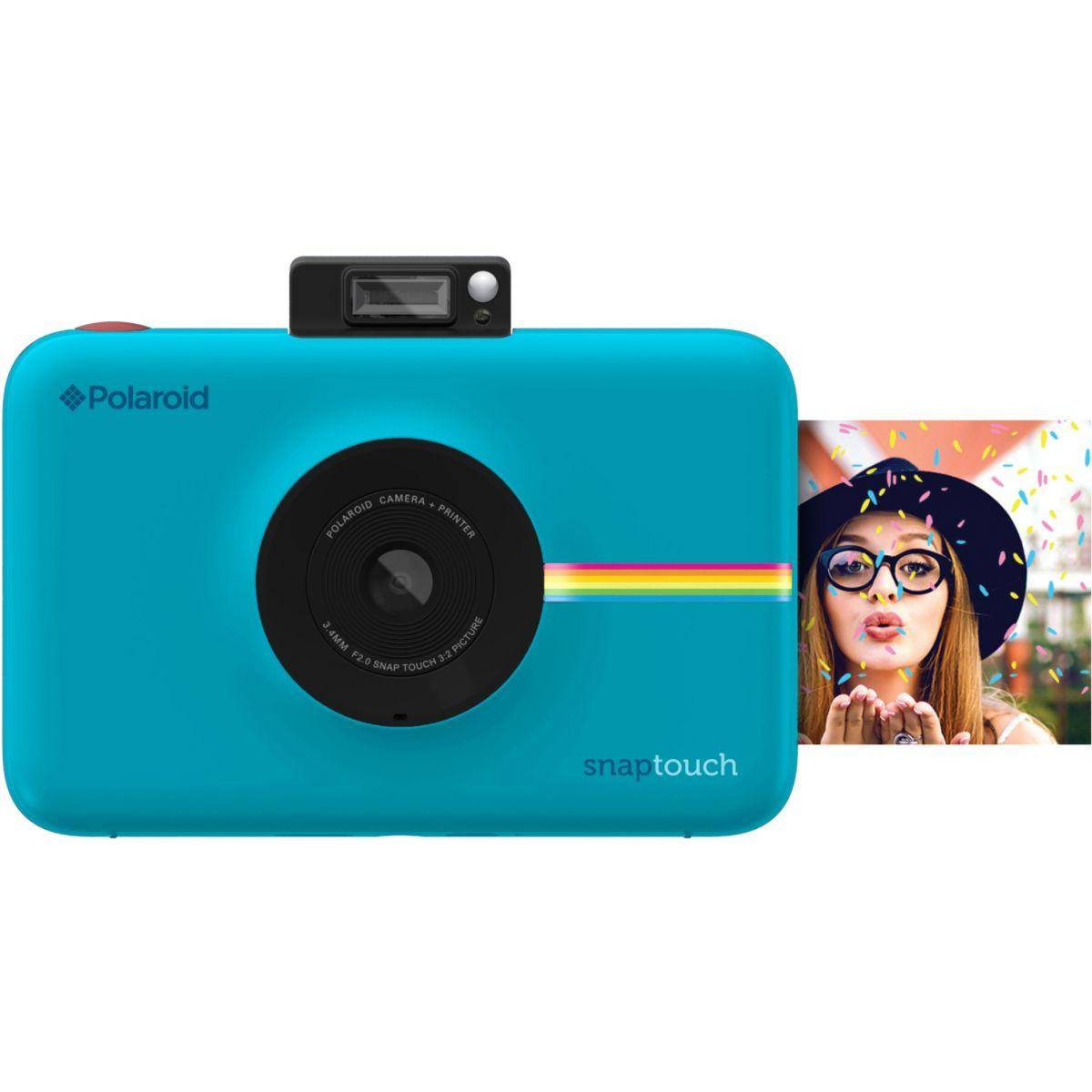 Appareil photo num?rique polaroid snap touch bleu