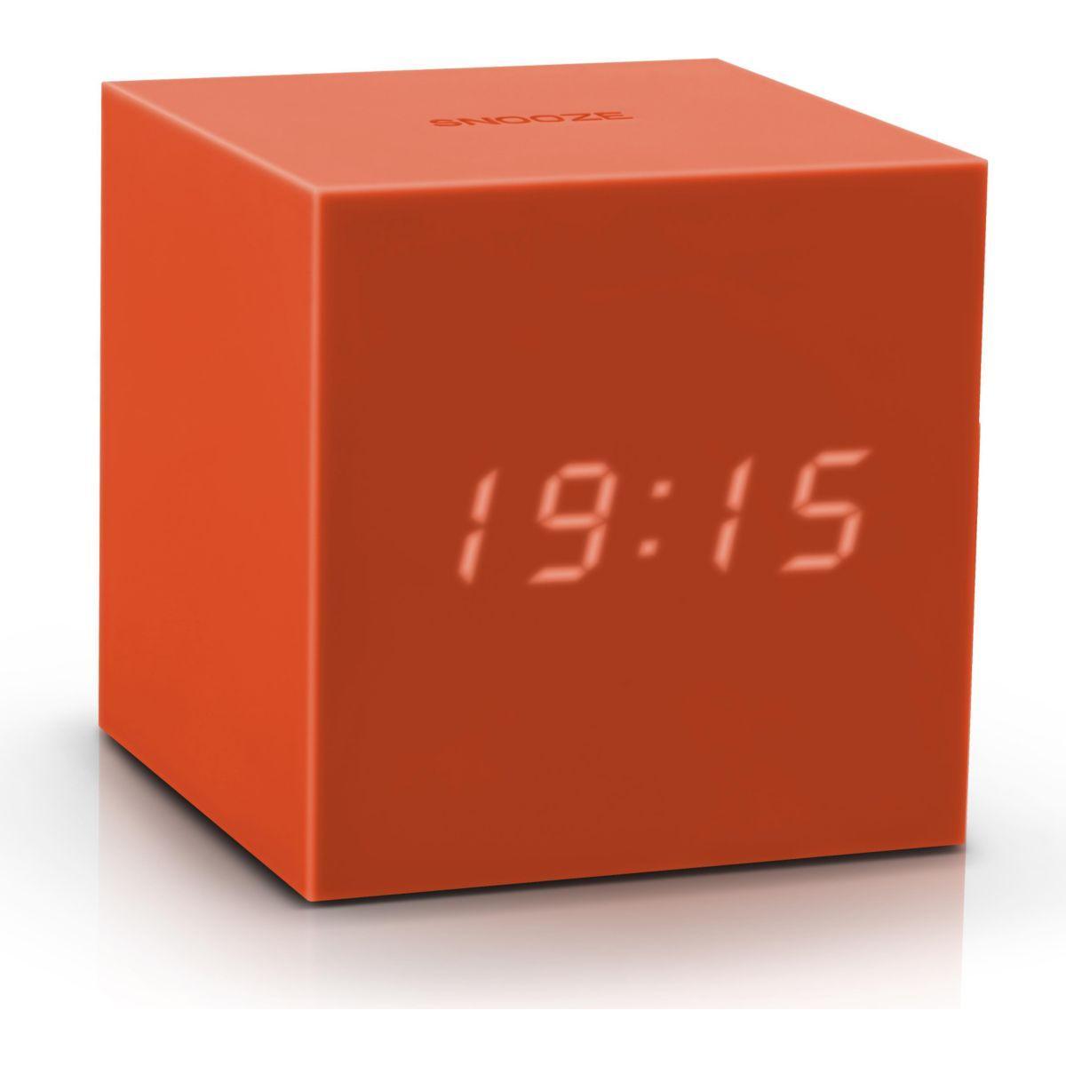 Réveil gingko gravity cube click clock o - 7% de remise immédiate avec le code : multi7