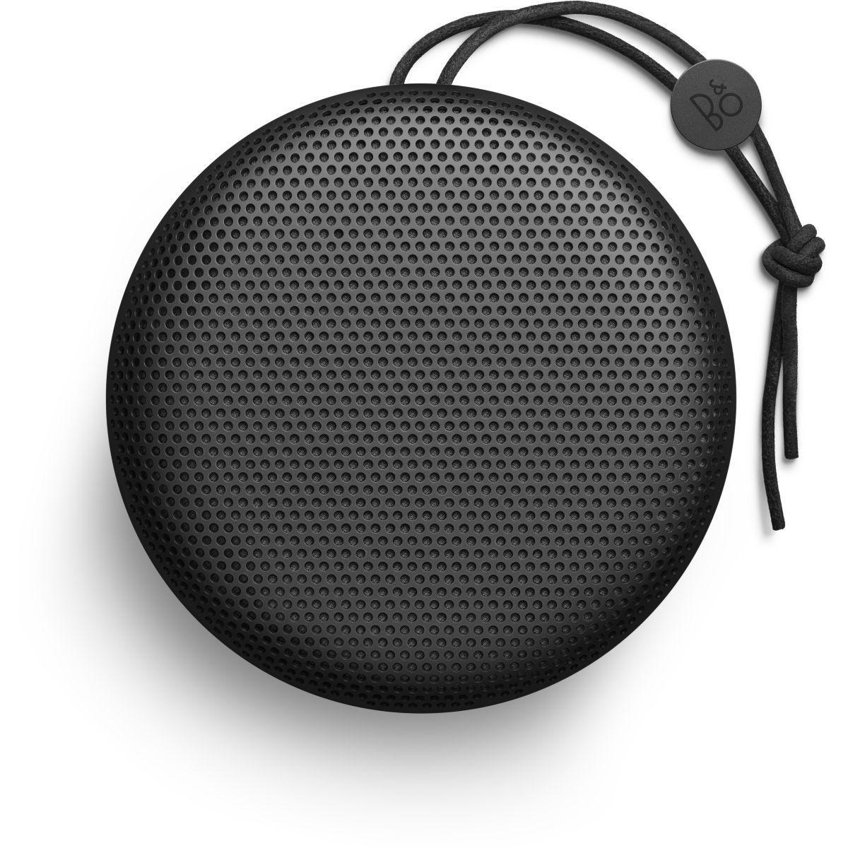 Enceinte bluetooth bang et olufsen beoplay a1 noir - livraison offerte : code premium (photo)