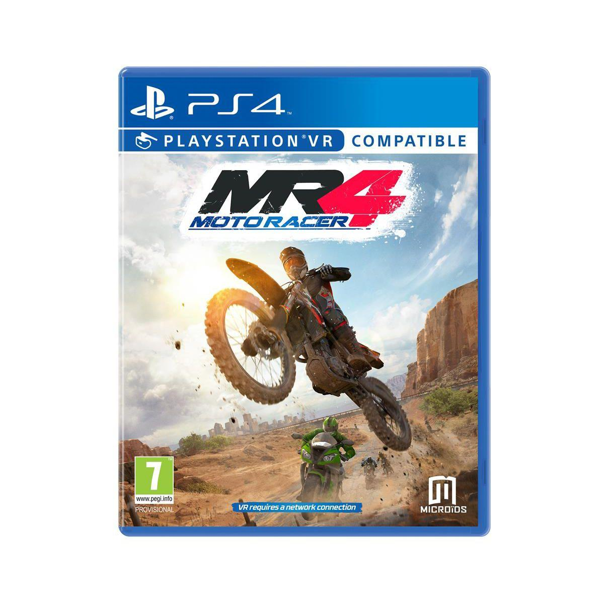 Jeu ps4 just for games motor racer 4 - 2% de remise immédiate avec le code : cool2 (photo)