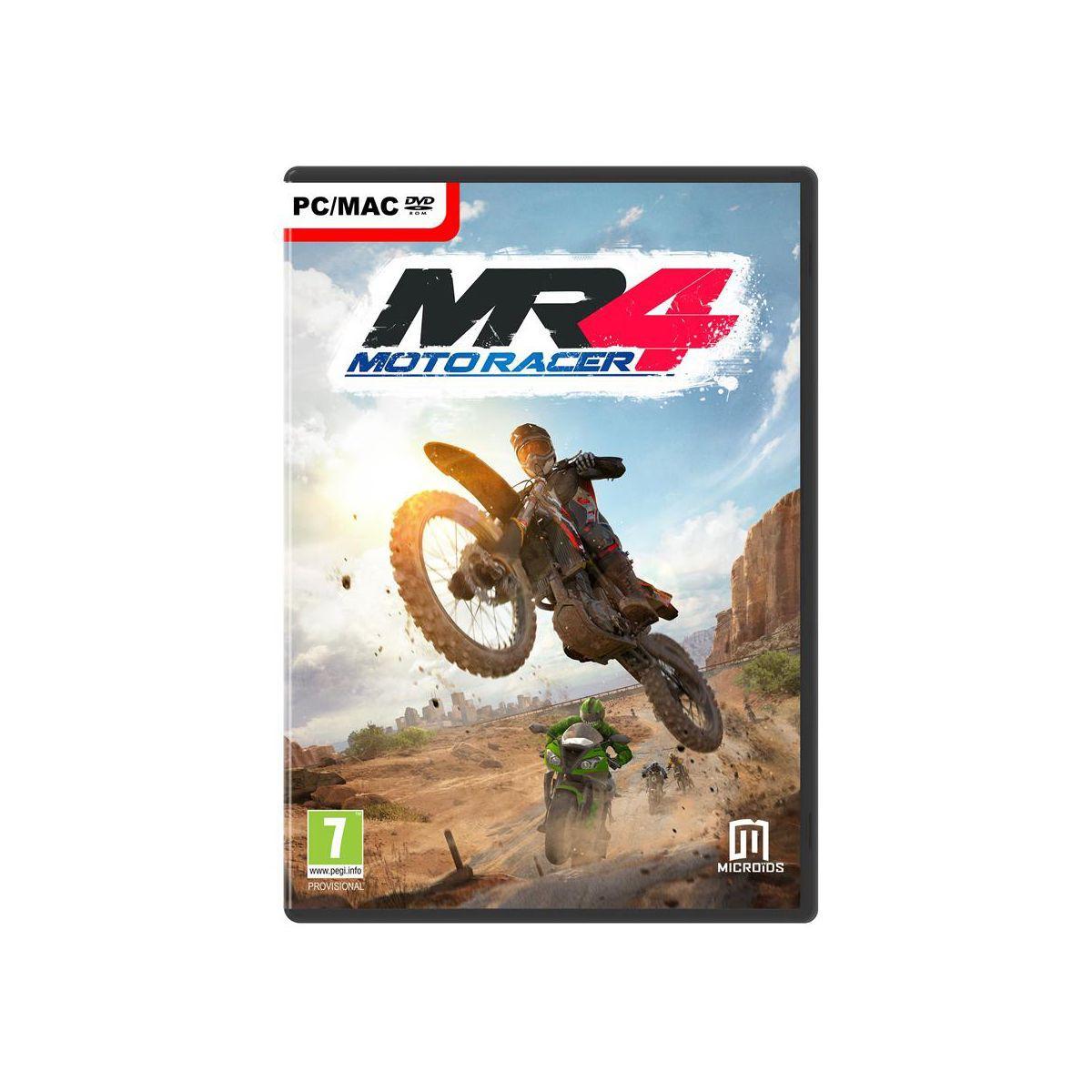 Jeu pc just for games motor racer 4 - 3% de remise immédiate avec le code : multi3 (photo)