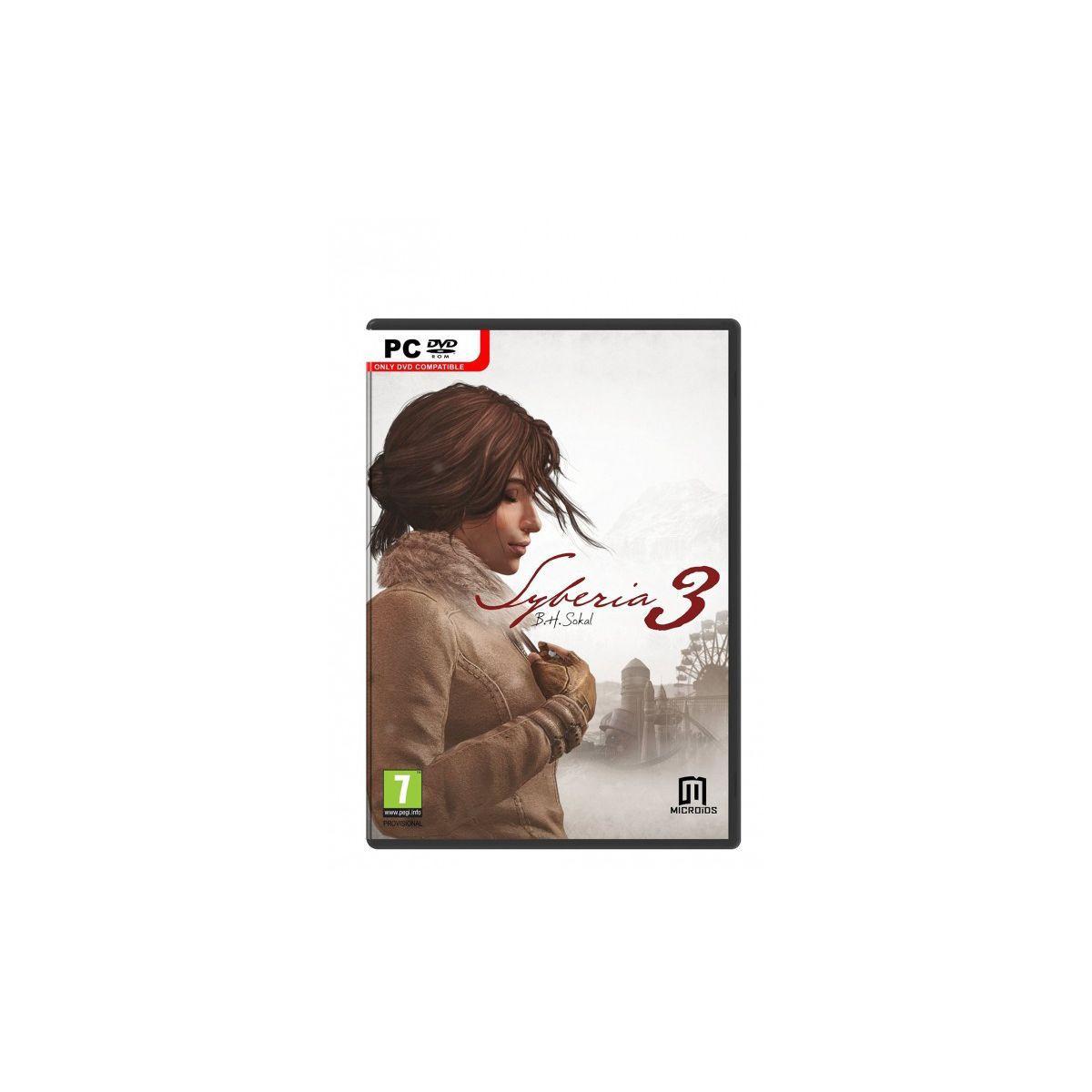 Jeu pc just for games syberia 3 - 3% de remise immédiate avec le code : multi3 (photo)