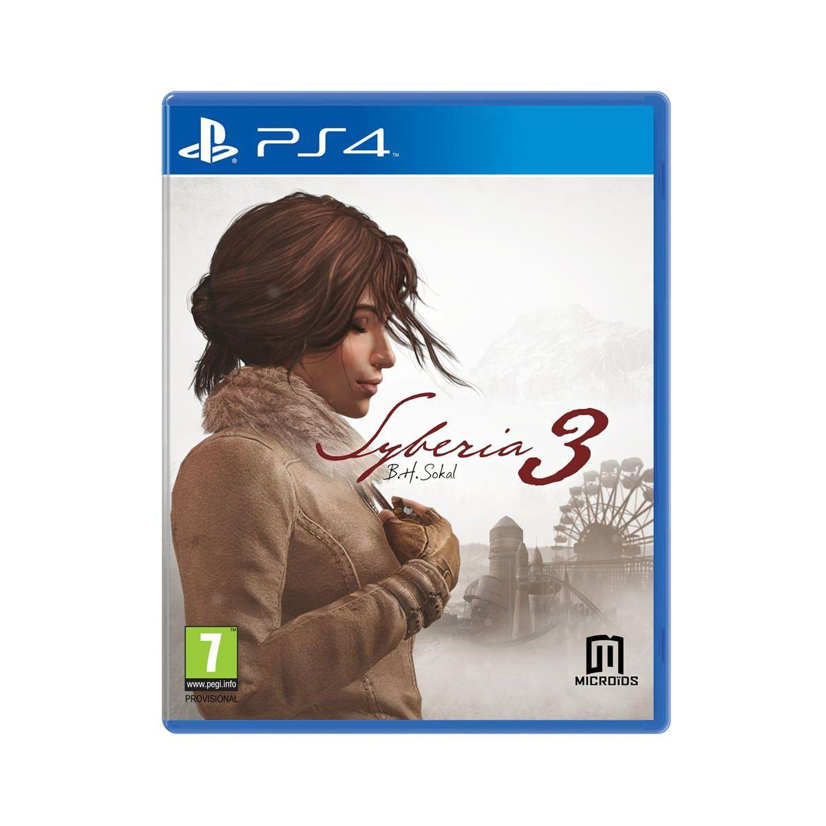 Jeu ps4 just for games syberia 3 - 2% de remise immédiate avec le code : cool2 (photo)
