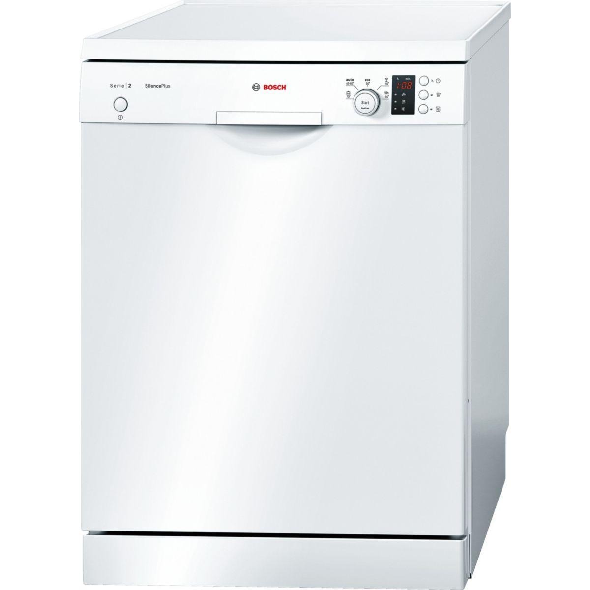 Lave-vaisselle 60cm bosch sms25aw04e - 2% de remise immédiate avec le code : cool2 (photo)