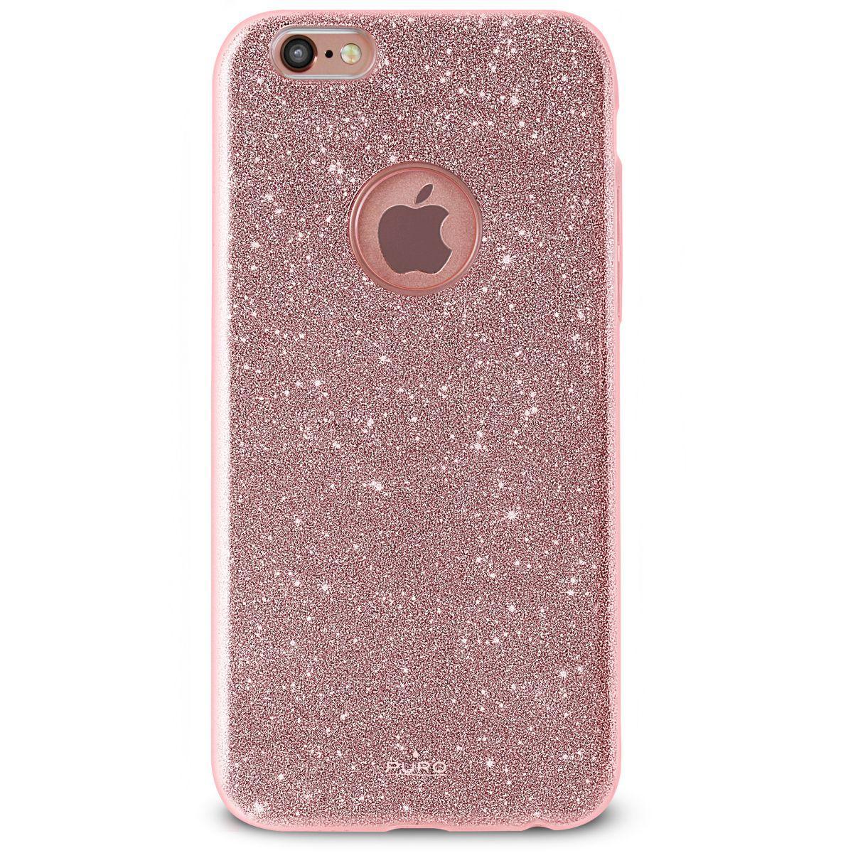 Coque puro iphone 7 pailleté rose doré - 20% de remise immédiate avec le code : multi20