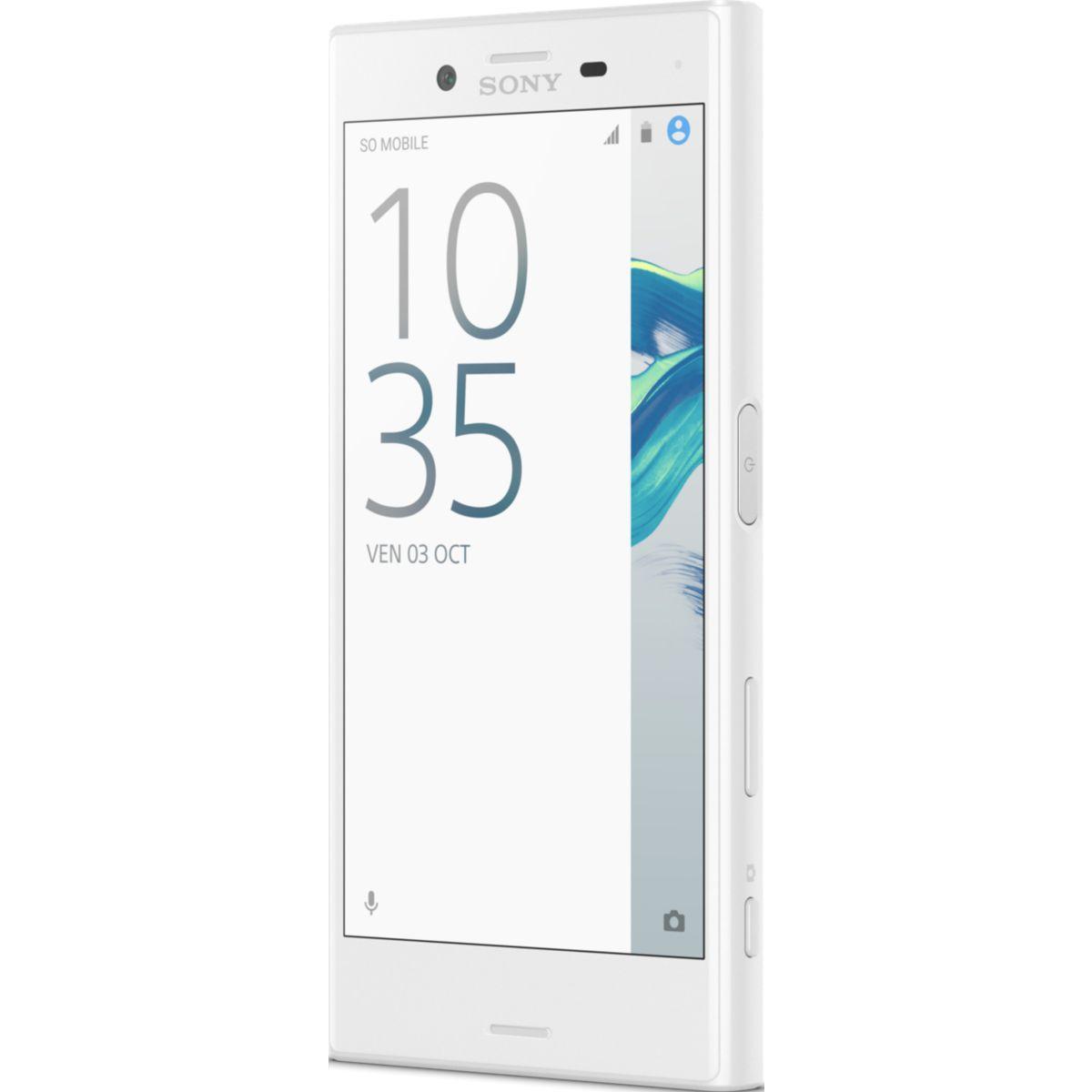 Smartphone sony xperia x compact blanc 3