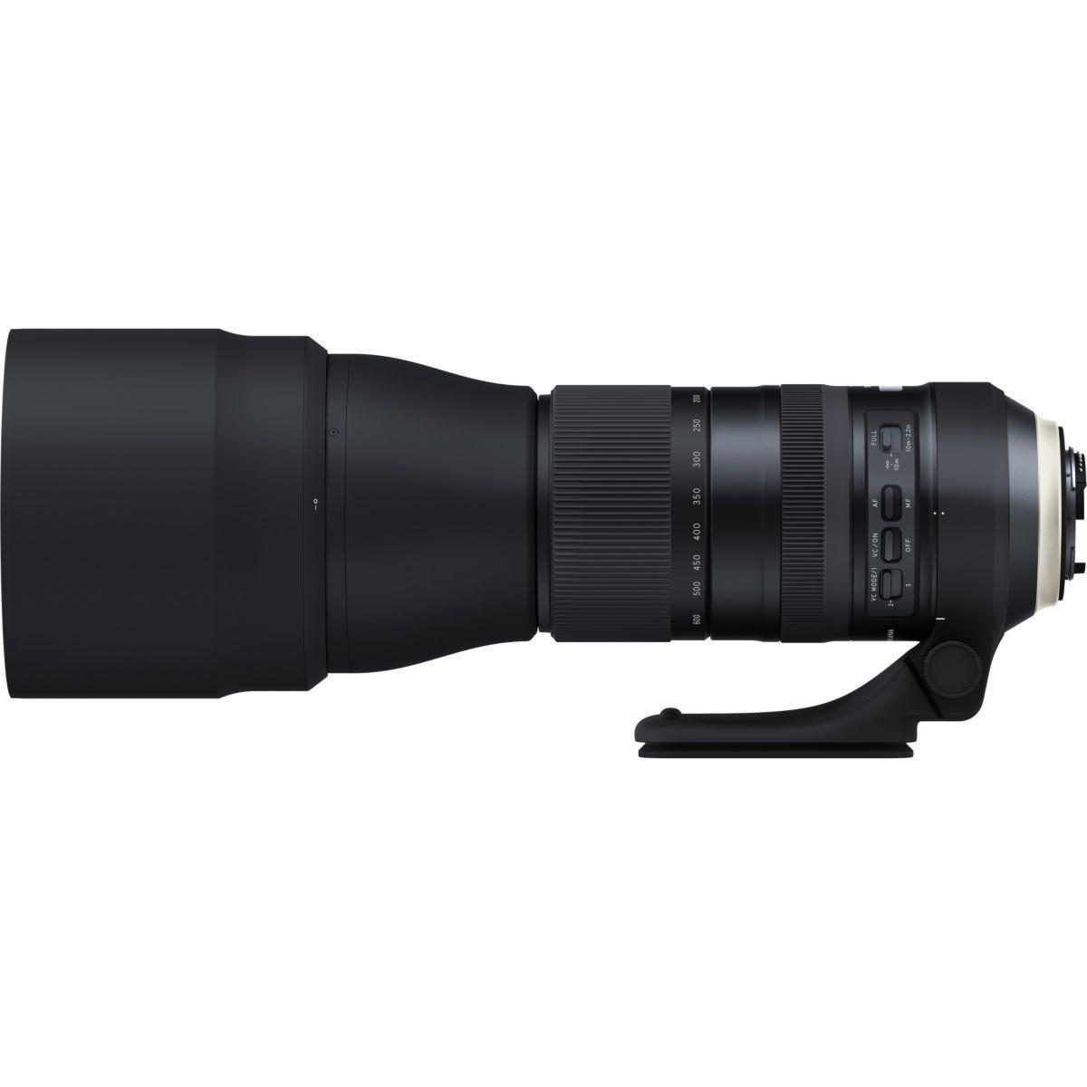 Objectif pour reflex tamron sp 150-600mm f/5-6,3 di vc usd g2 nikon