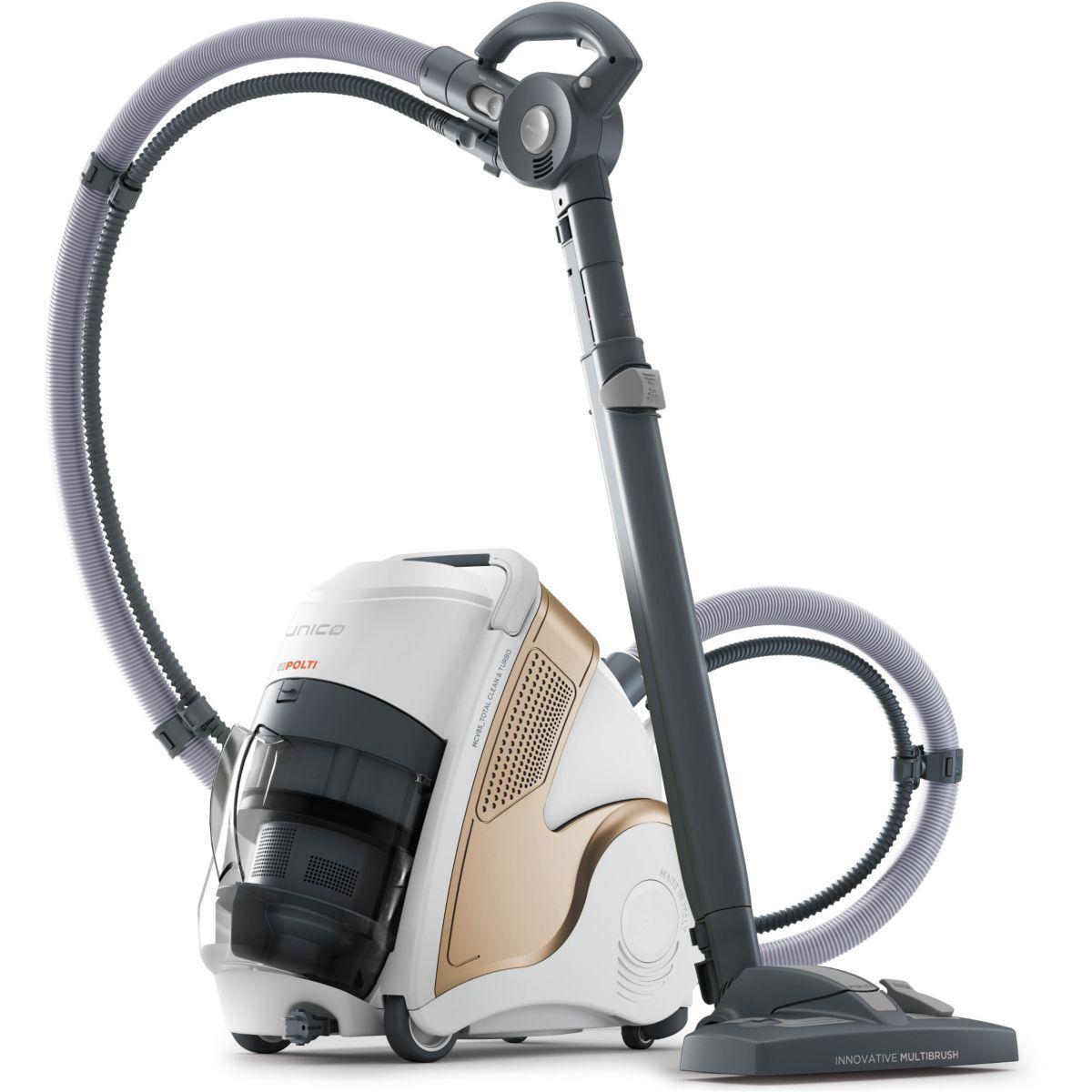 Aspirateur nettoyeur vapeur polti unico mcv85 total clean &amp...