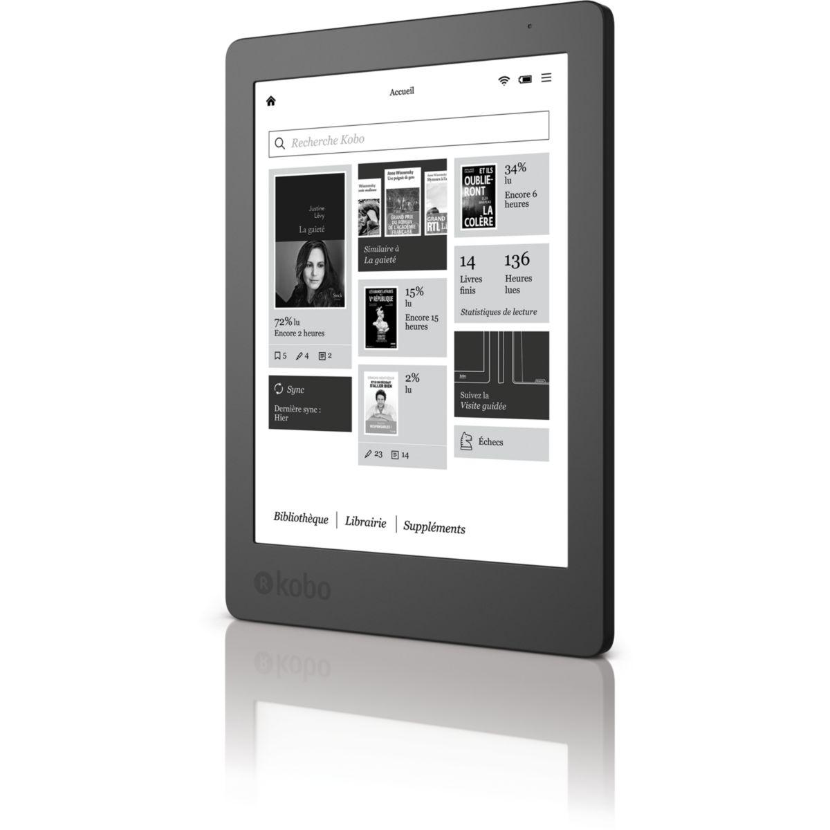 E-book kobo aura 2 - 2% de remise imm�diate avec le code : wd2 (photo)