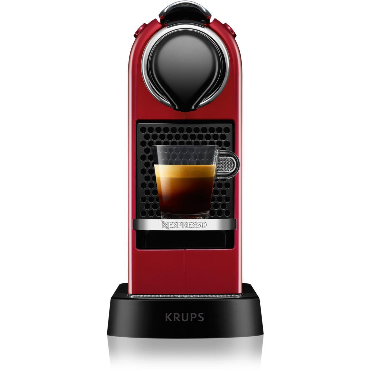 Nespresso krups yy2731fd citiz rouge - livraison offerte : code liv