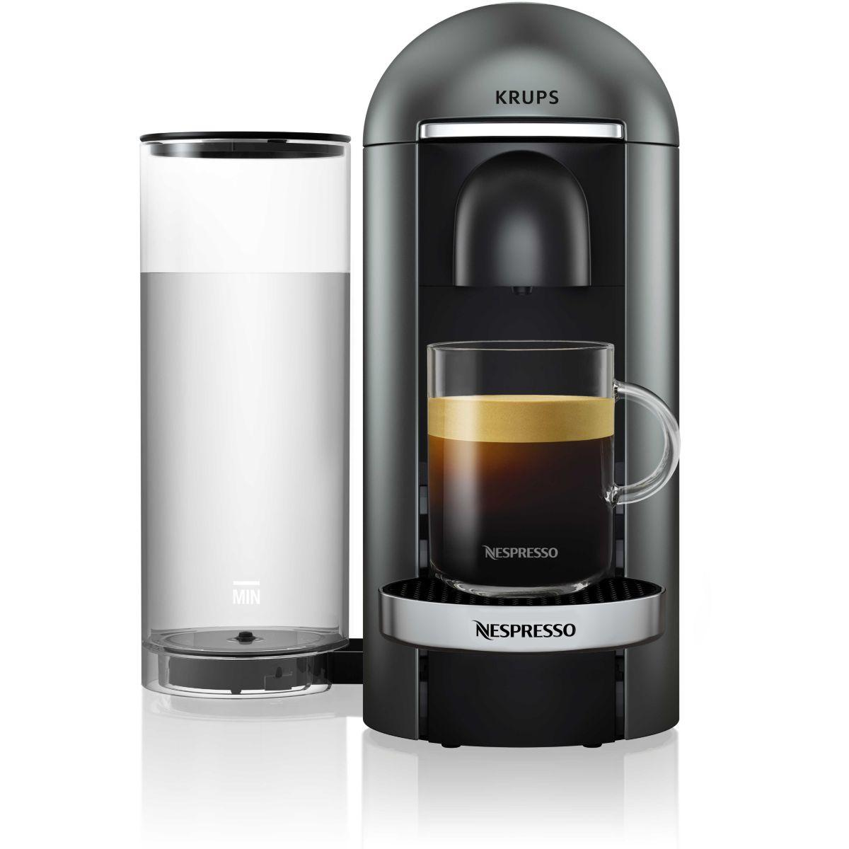 Nespresso vertuo krups yy2778fd vertuo titane (photo)