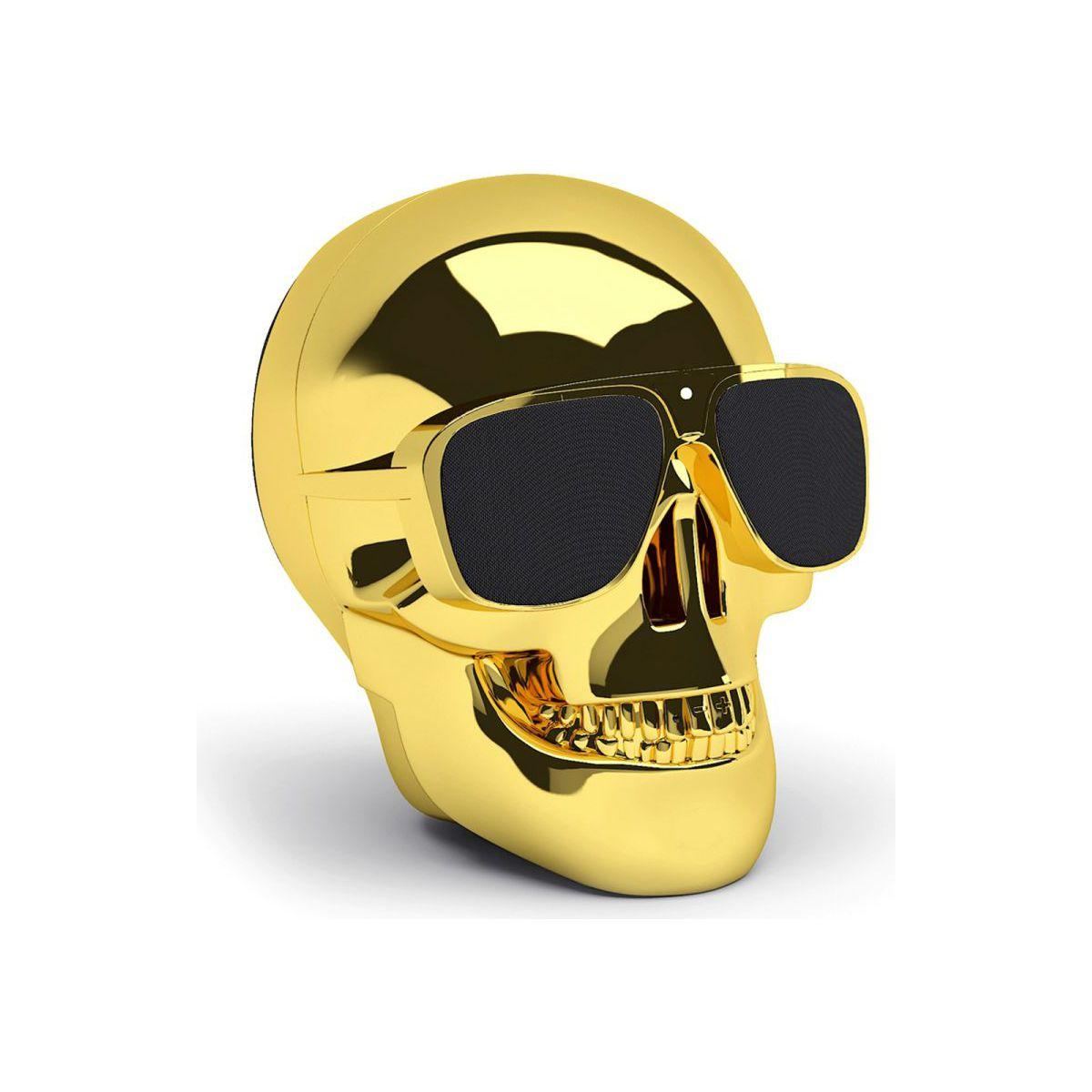 Enceinte bluetooth jarre aeroskull nano gold - 20% de remise imm�diate avec le code : fete20 (photo)