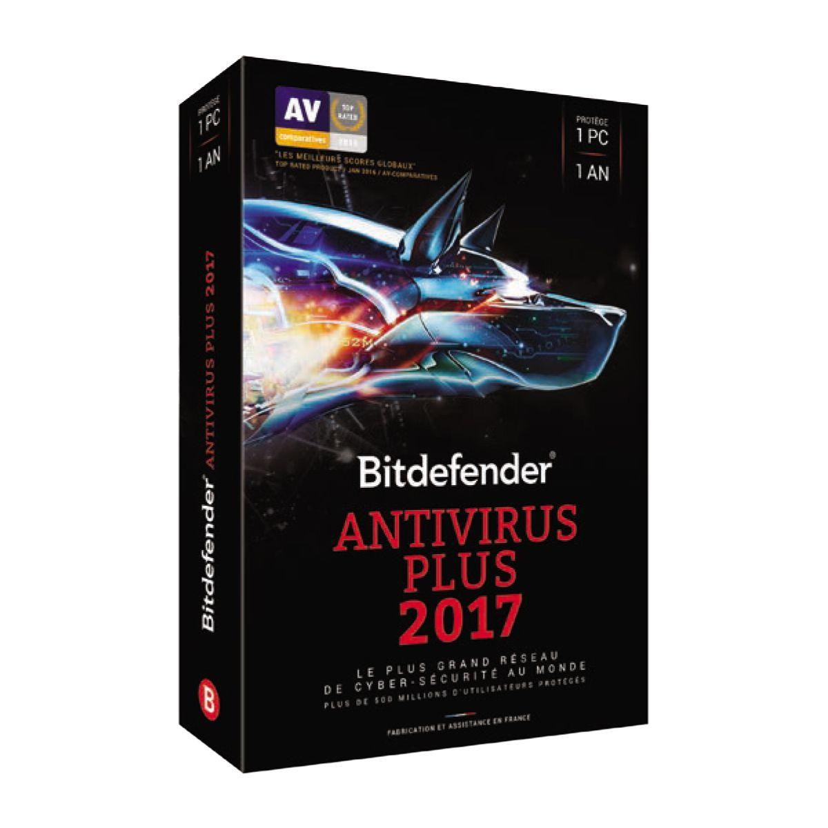 Logiciel pc bitdefender antivirus plus 2017 - (photo)