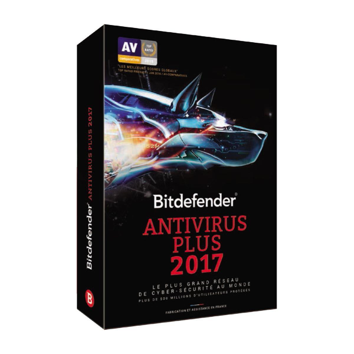 Logiciel pc bitdefender antivirus plus 2017 - - 10% de remise immédiate avec le code : cash10 (photo)