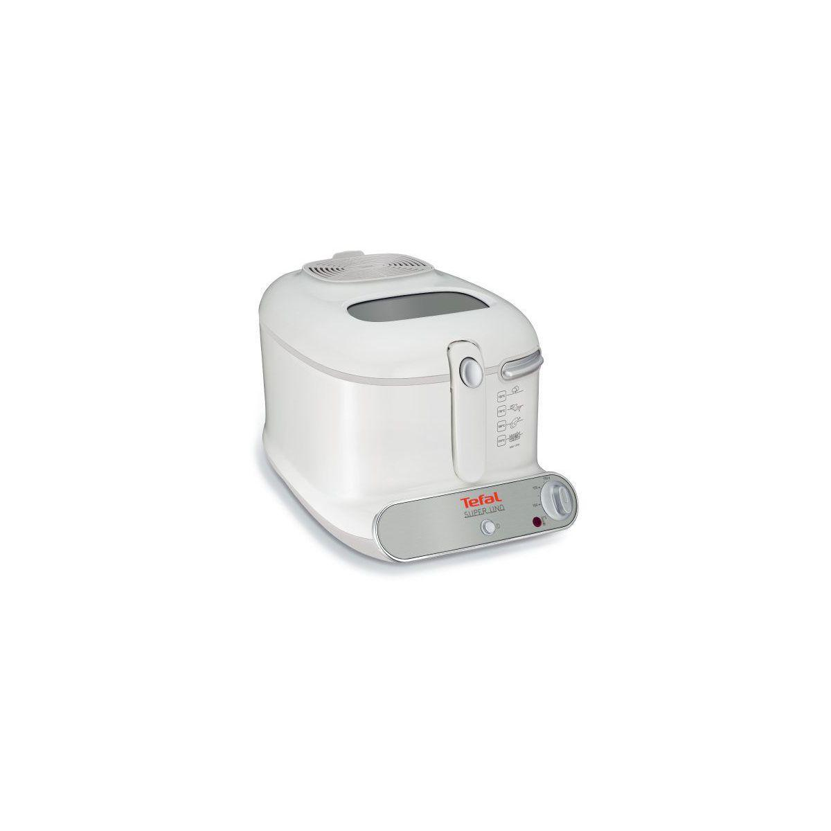 Friteuse tefal super uno blanche fr30013