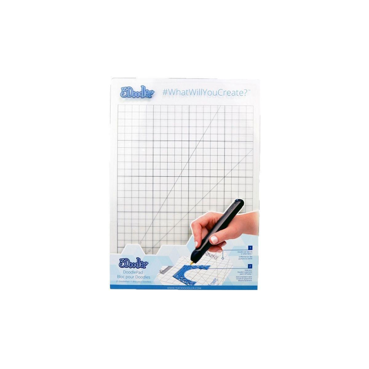 Accessoire stylo 3d 3doodler doodle pad create - 2% de remise imm�diate avec le code : school2 (photo)