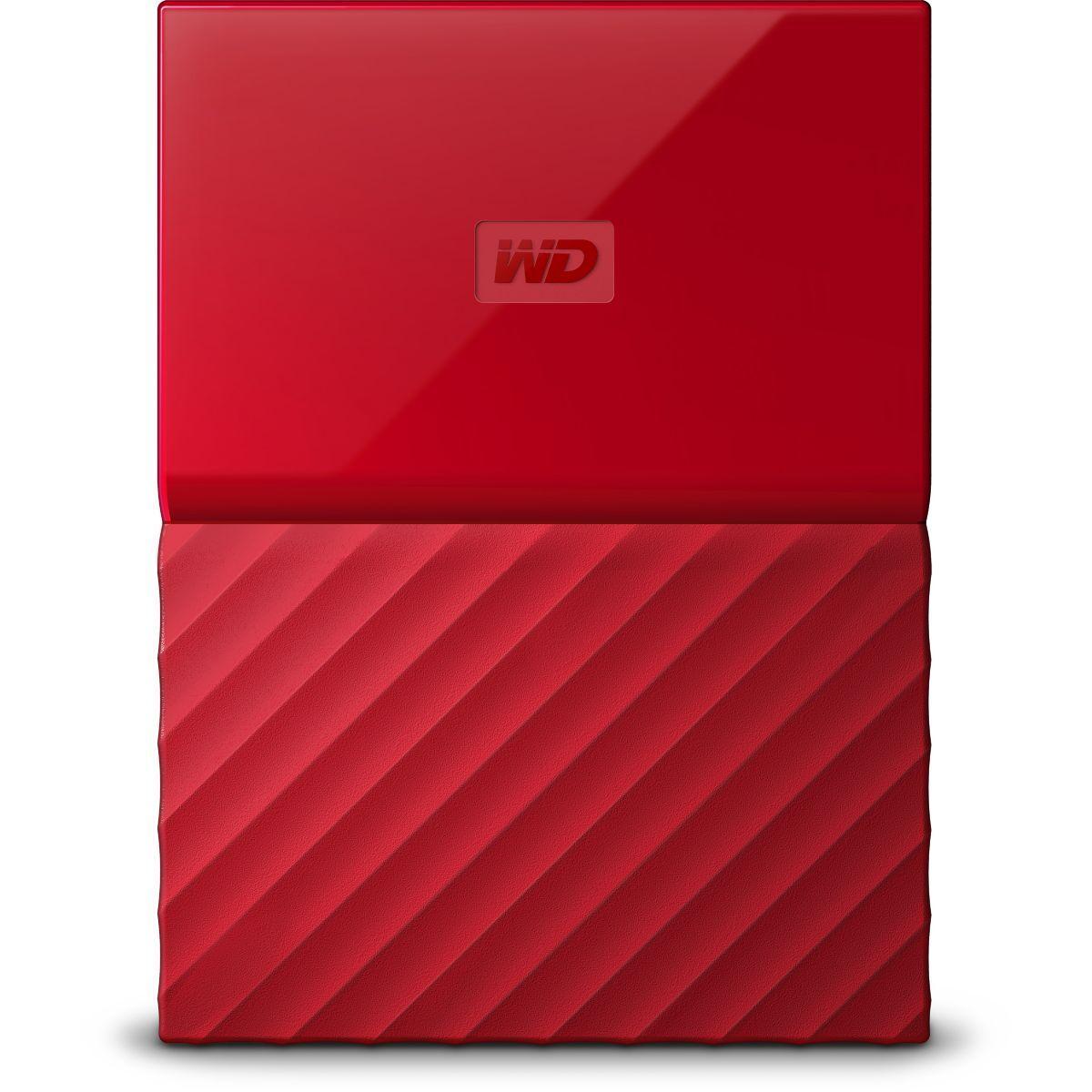 Disque wd 2,5'' 1 to my passport rouge n - 3% de remise immédiate avec le code : multi3