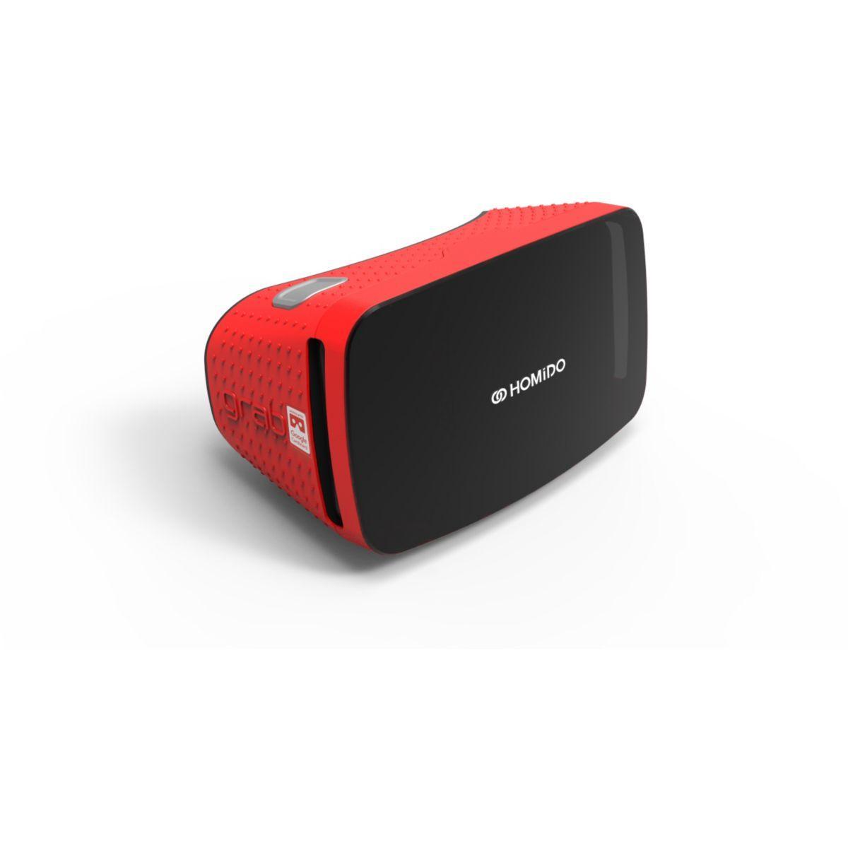 Casque de réalité virtuelle pour smartphone homido grab rouge - 2% de remise immédiate avec le code : cool2 (photo)