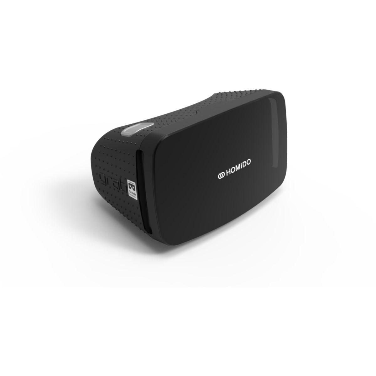 Casque de réalité virtuelle pour smartphone homido grab noir - 2% de remise immédiate avec le code : cool2 (photo)