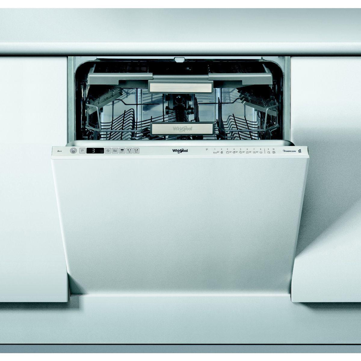 Lave vaisselle tout int?grable whirlpool wio3t123pef - livrais...